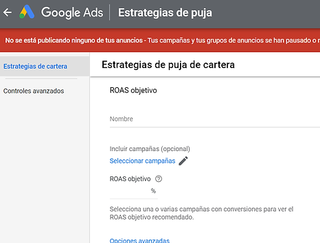 pujas automatizadas google ads