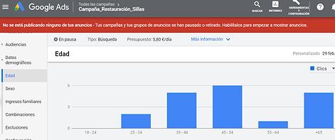 datos demograficos google ads