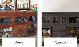 restaración de escritorio de madera