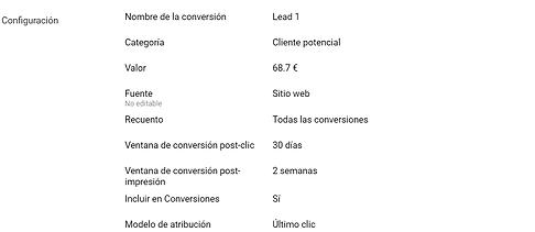 valor conversion google ads