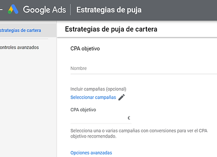 pujas automatizadas conversion google ads