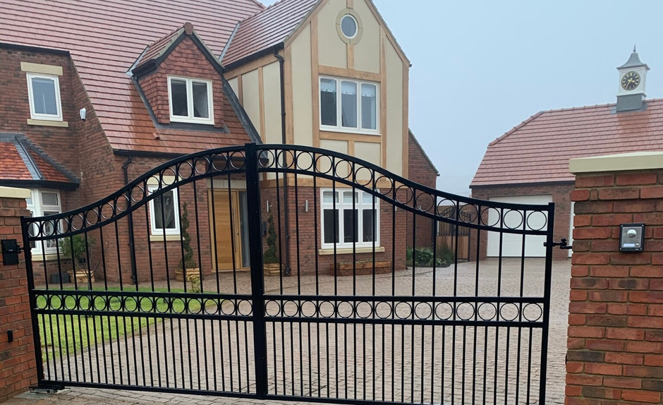 Driveway Gates - View more on Instagram