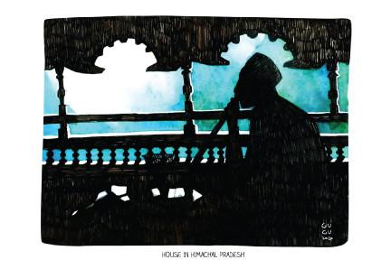 Himachali House |  Nandita Dhindsa