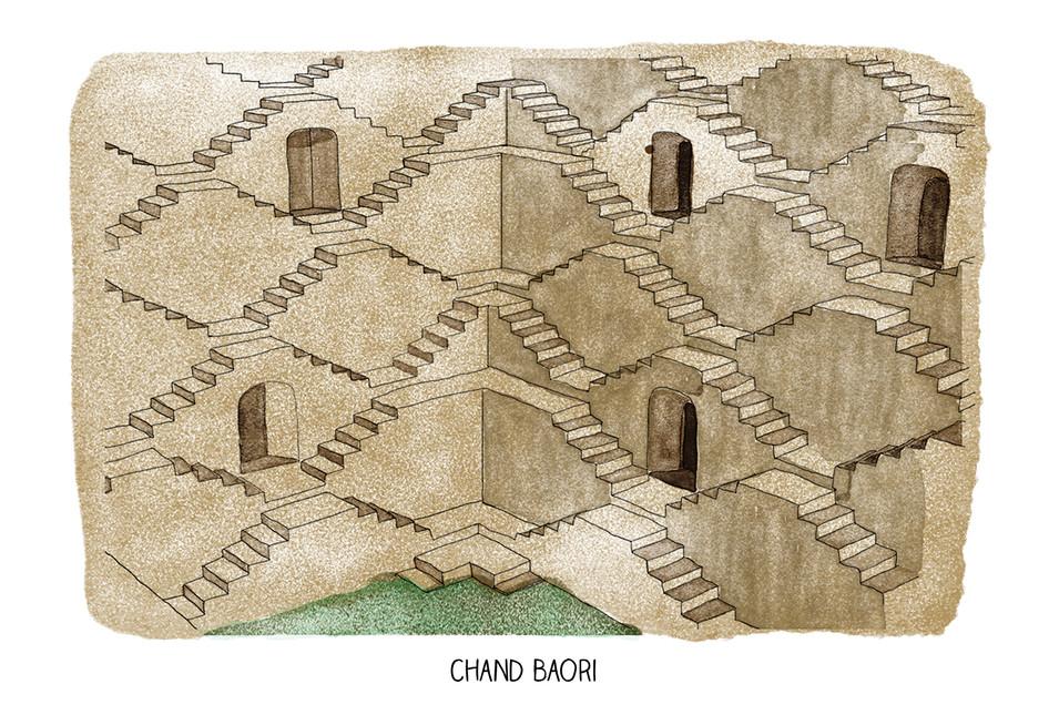Chand Baori | Gluppy Skin