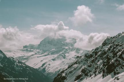 Somewhere in Himalayas | Madhu
