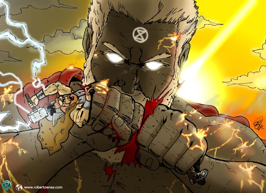 Chronos vs Thor