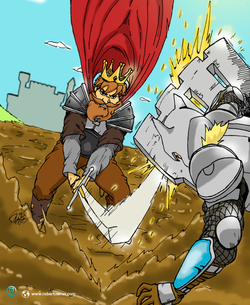 Rei Vs Cavaleiro - Realt
