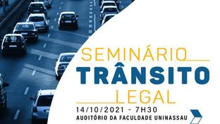 OAB-PB entrega comenda Fátima Lopes a destaques do trânsito durante seminário na Uninassau
