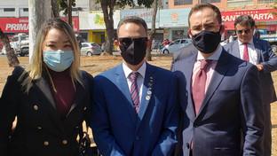OAB-PB participa de desagravo público em defesa de advogado agredido por policiais em Goiás