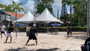 CAA-PB comemora sucesso da clínica de beach tennis