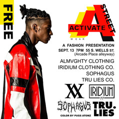 Pugs Atomz Activate Street Fashion Show