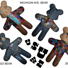 Indigo and Michigan Ave Bear