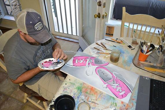 fine art painter in texas