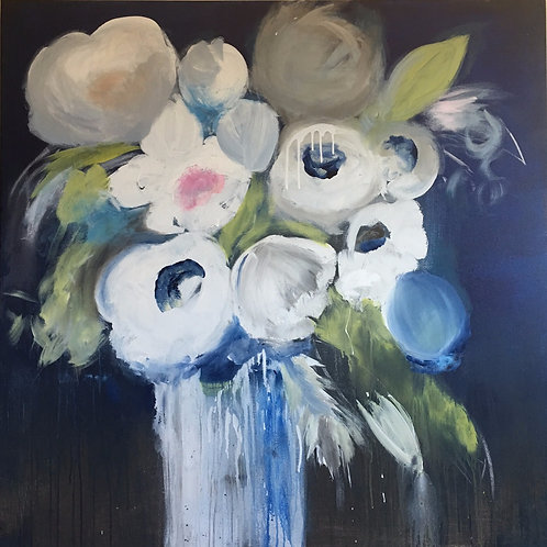 Whimsy Bloom 48x48