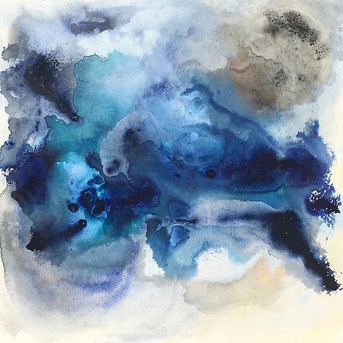 """""""Caribbean View"""" 36x36 Canvas"""