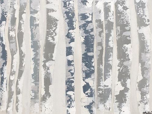 Aspen Trees 18x24