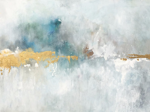 """""""Golden and Bright again"""" 36x48"""