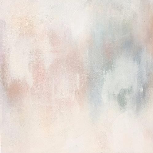"""That blushing feeling"" 30x30 Canvas"