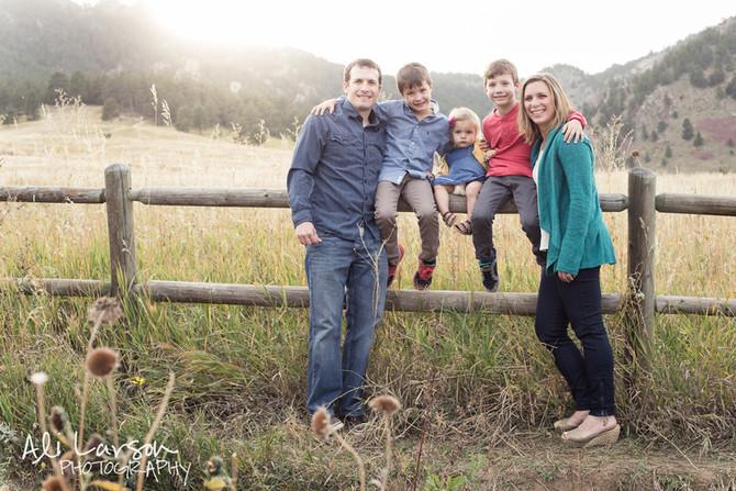 Gray Family at Chautauqua
