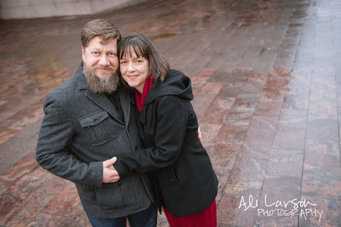 The Hansons at Union Station