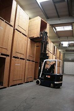 Easy access storagebox Verhuisbedrijf Fa. P.M. de Wit & Zn