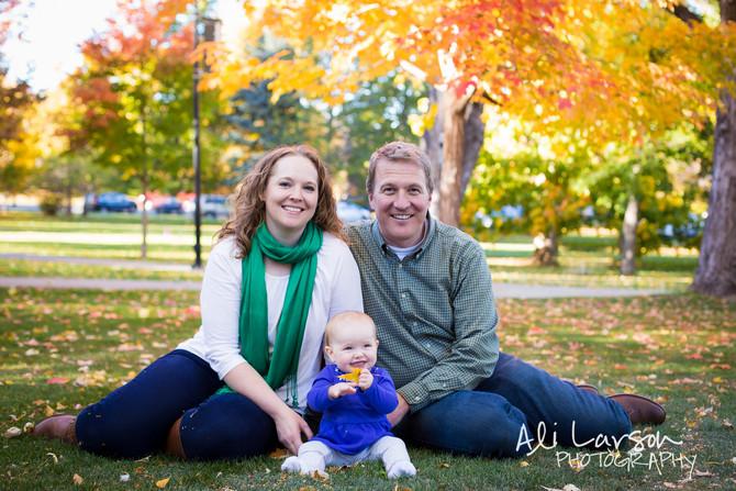 Calvert Family in Boulder