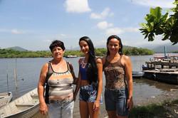 Três gerações em Ilha Diana