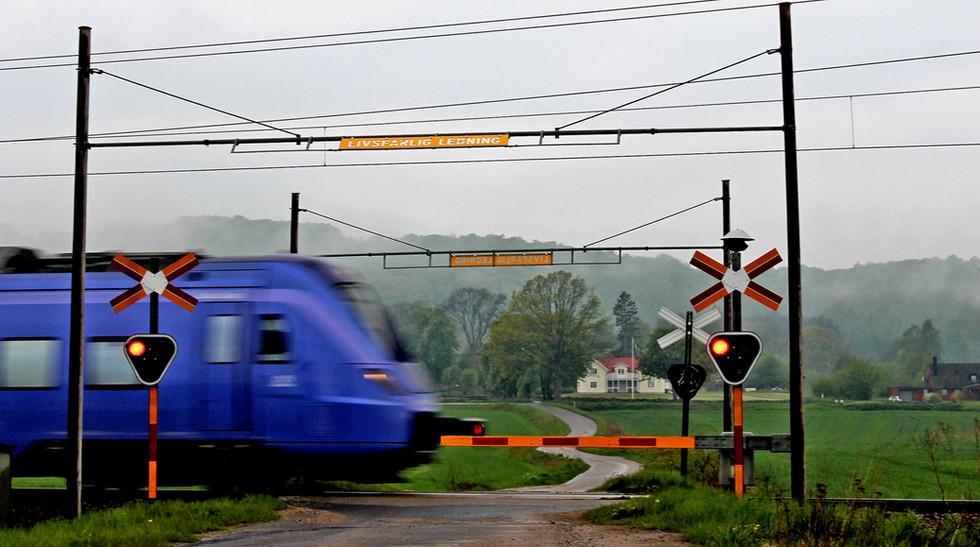 Swischhhh igenom ett regntungt landskap! Foto: Felix Hubertsson.