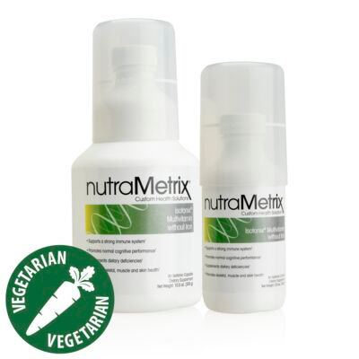 NutraMetrix Multivitamin Without Iron