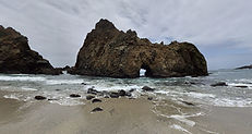 Pfeiffer Beach Trail, Big Sur