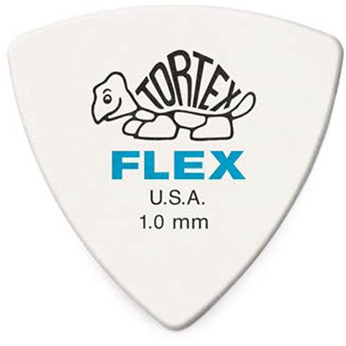 Dunlop 456R1.0 Tortex Flex Triangle 1.0 mm Bag/72
