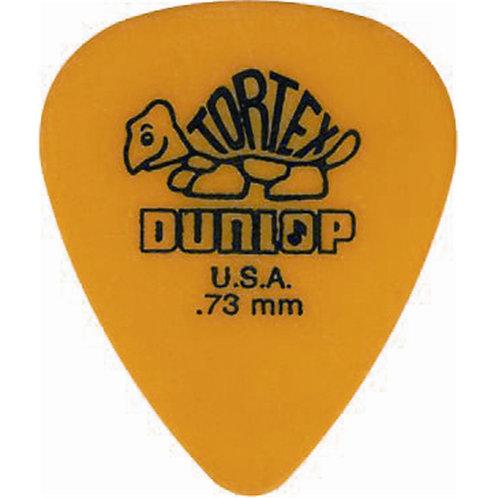 Dunlop 418R Tortex Standard Yellow .73