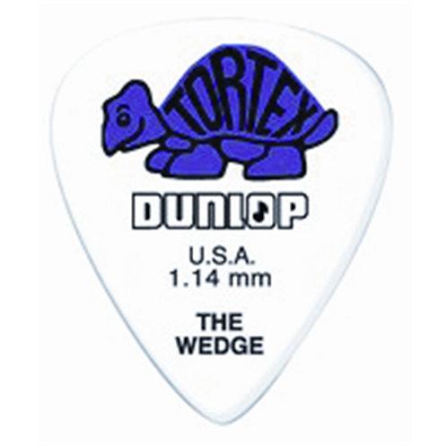 Dunlop 424P Tortex Wedge Purple 1.14