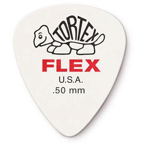 Dunlop 428P.50 Tortex Flex Standard .50 mm Pack/12