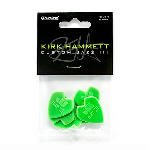 Dunlop 47PKH3N Kirk Hammet Signature Player's Pack/6