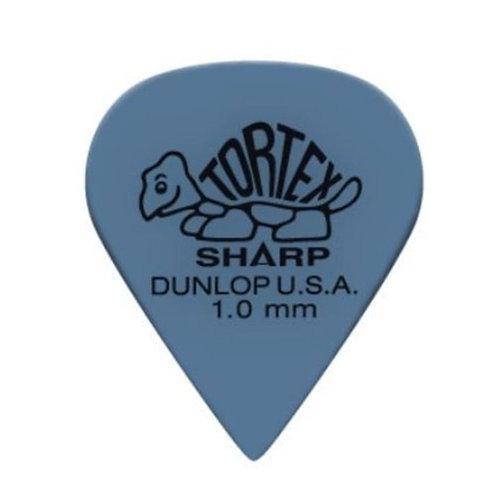 Dunlop 412R1.0 Tortex Sharp Blue 1.0mm Bag/72