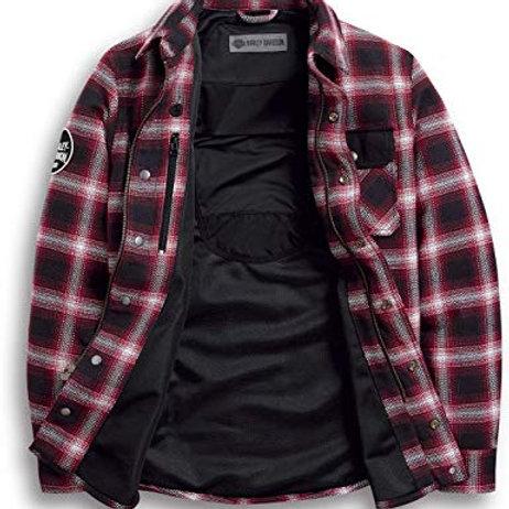 Chemise à carreaux homologuée CE