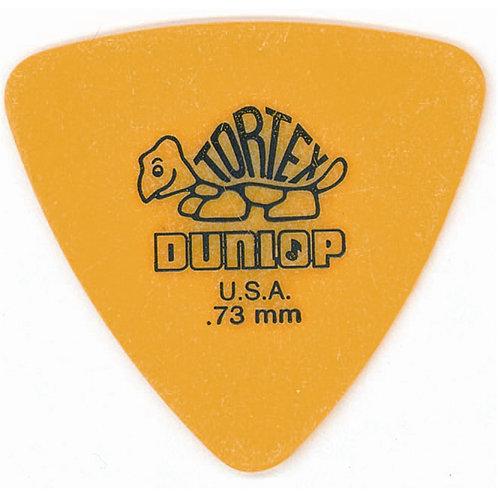 Dunlop 431R Tortex Triangle Yellow .73
