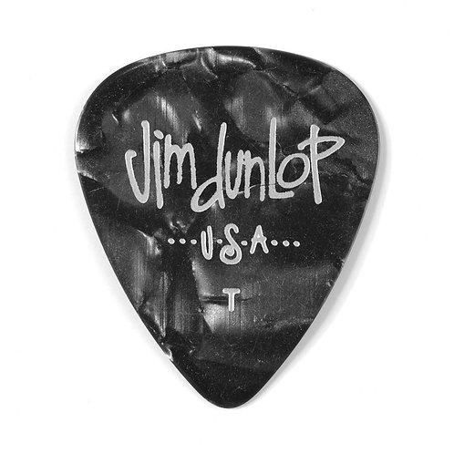 Dunlop 483P#02 Black Perloid - Thin