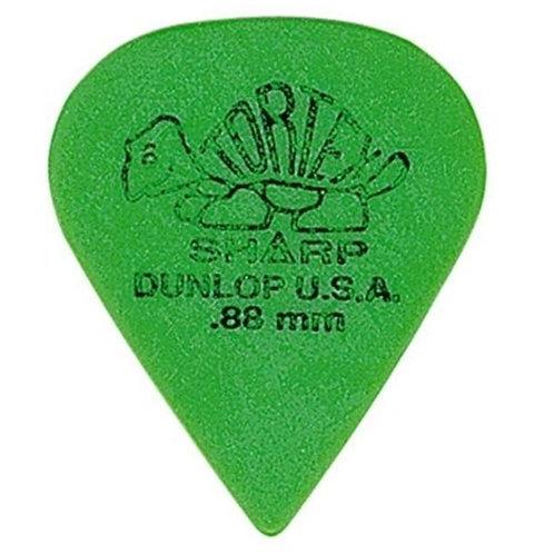 Dunlop 412R.88 Tortex Sharp Green .88mm Bag/72