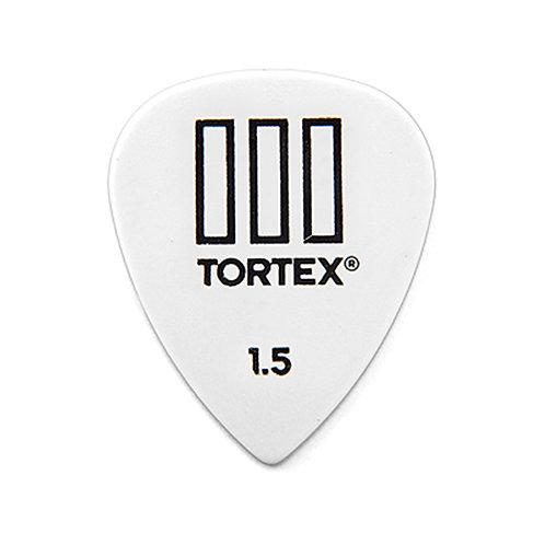 Dunlop 462R Tortex III White 1.5
