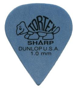 Dunlop 412P Tortex Sharp Blue 1.0