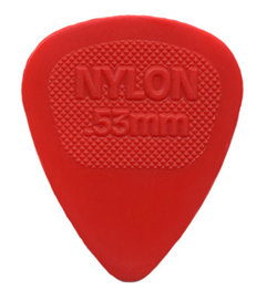 Dunlop 443R Nylon Midi .53 Red
