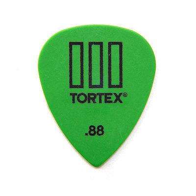 Dunlop 462P Tortex III Green .88