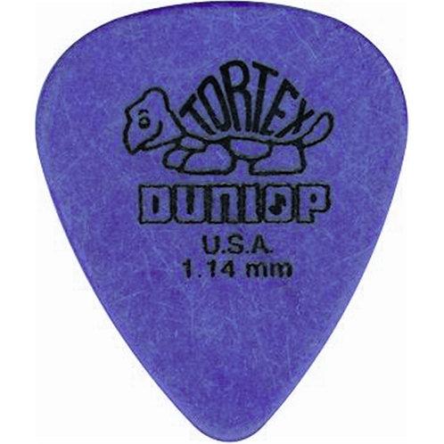 Dunlop 418P Tortex Standard Purple 1.14