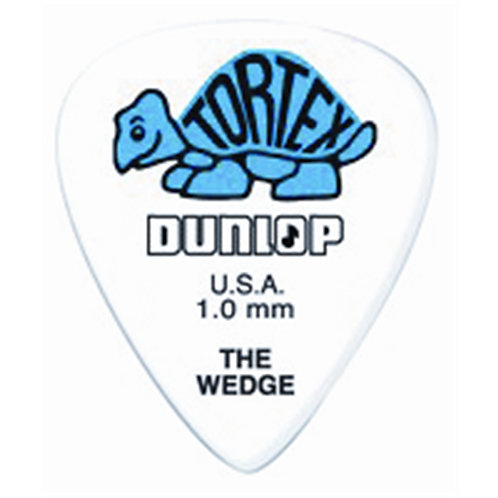 Dunlop 424P Tortex Wedge Blue 1.0