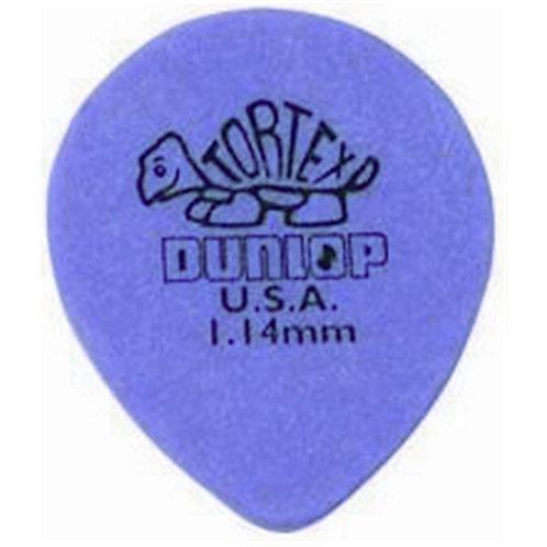 Dunlop 413R Tortex Tear Drop Purple 1.14