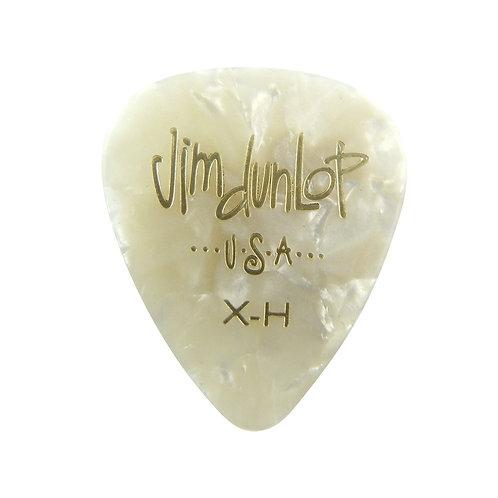Dunlop 483P#04 White Perloid - Extra Heavy