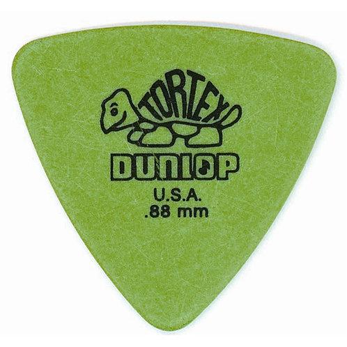 Dunlop 431P Tortex Triangle Green .88