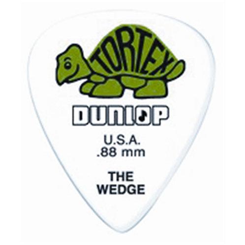 Dunlop 424P Tortex Wedge Green .88